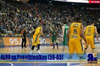 Alba Berlin - Panathinaikos Athen (59-65)