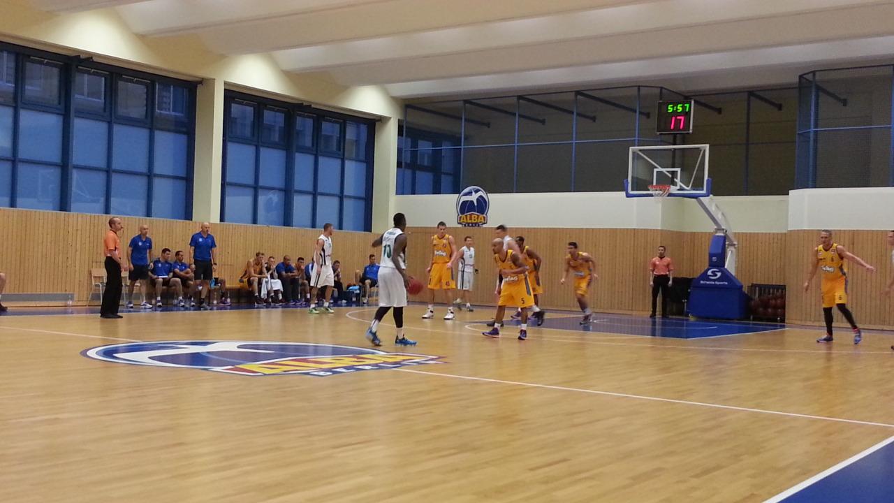 Test gegen Zielona Gora, 2013 knapp erfolgreich