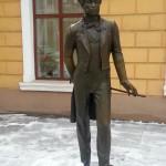 Denkmal Alexander Puschkins