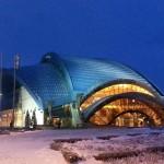 FSK OLIMP, futuristische Halle