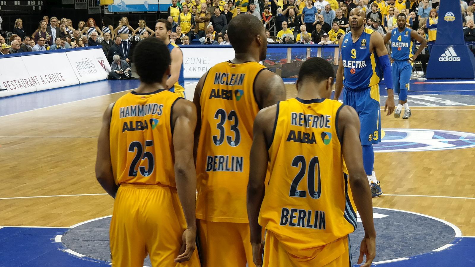 Alba Berlin den Rücken zugekehrt