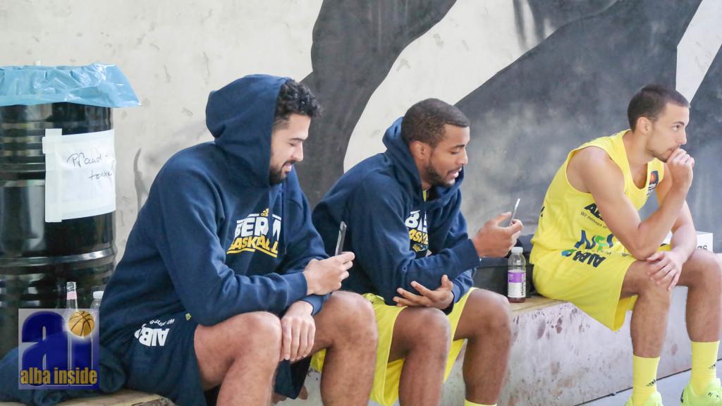 Mitchell Watt und Jordan Taylor - Hoffnungsträger für Alba Berlin 15-16