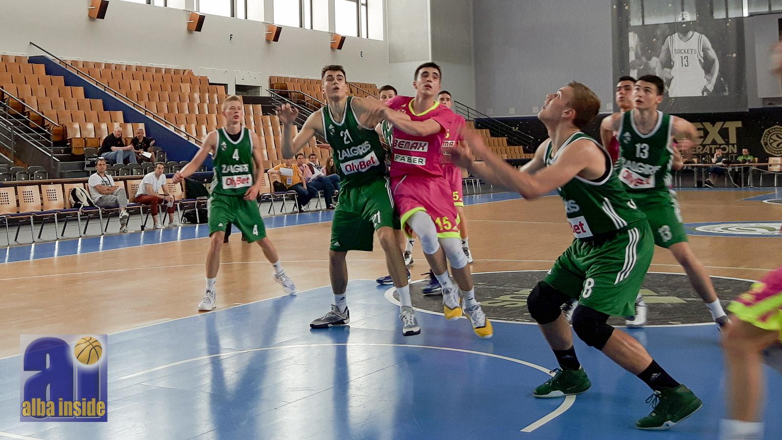 Zalgiris Kaunas gegen Mega Bemax Belgrad