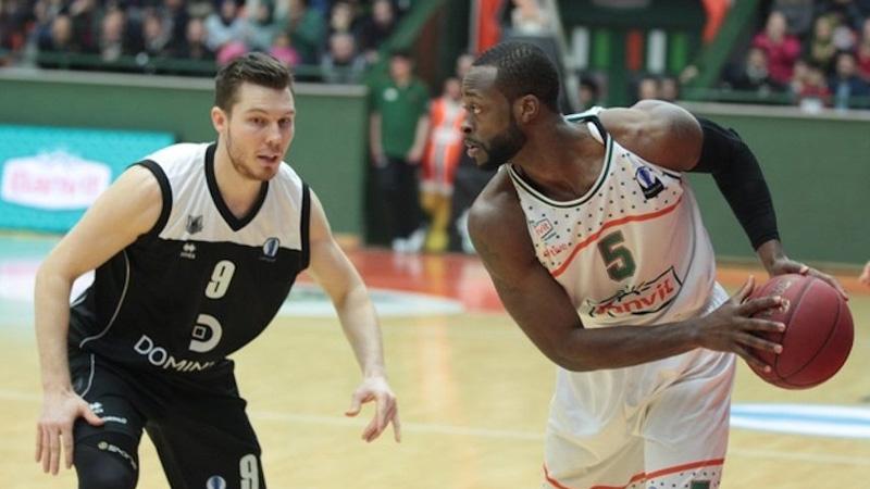 Auch mit Alba Berlin wieder gegen Bilbao: Scharfschütze Dominique Johnson; Foto: Eurocup Basketball