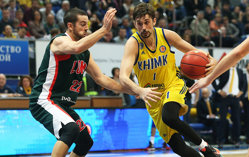 Der Star des Teams, Alex Shved, Foto: (c) Khimki Moskau