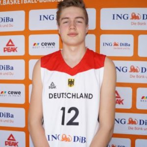 Elias Rödl, deutscher U15-NationalspielerFoto (c): Deutscher Basketball Bund