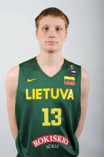 Für alle litauischen U-Nationalmannschaften im Einsatz