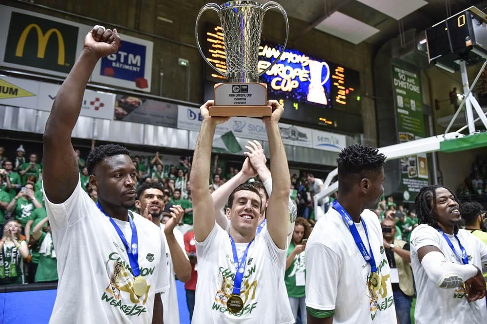 FIBA Europe Cup Sieger 2016-17: Spencer Butterfield