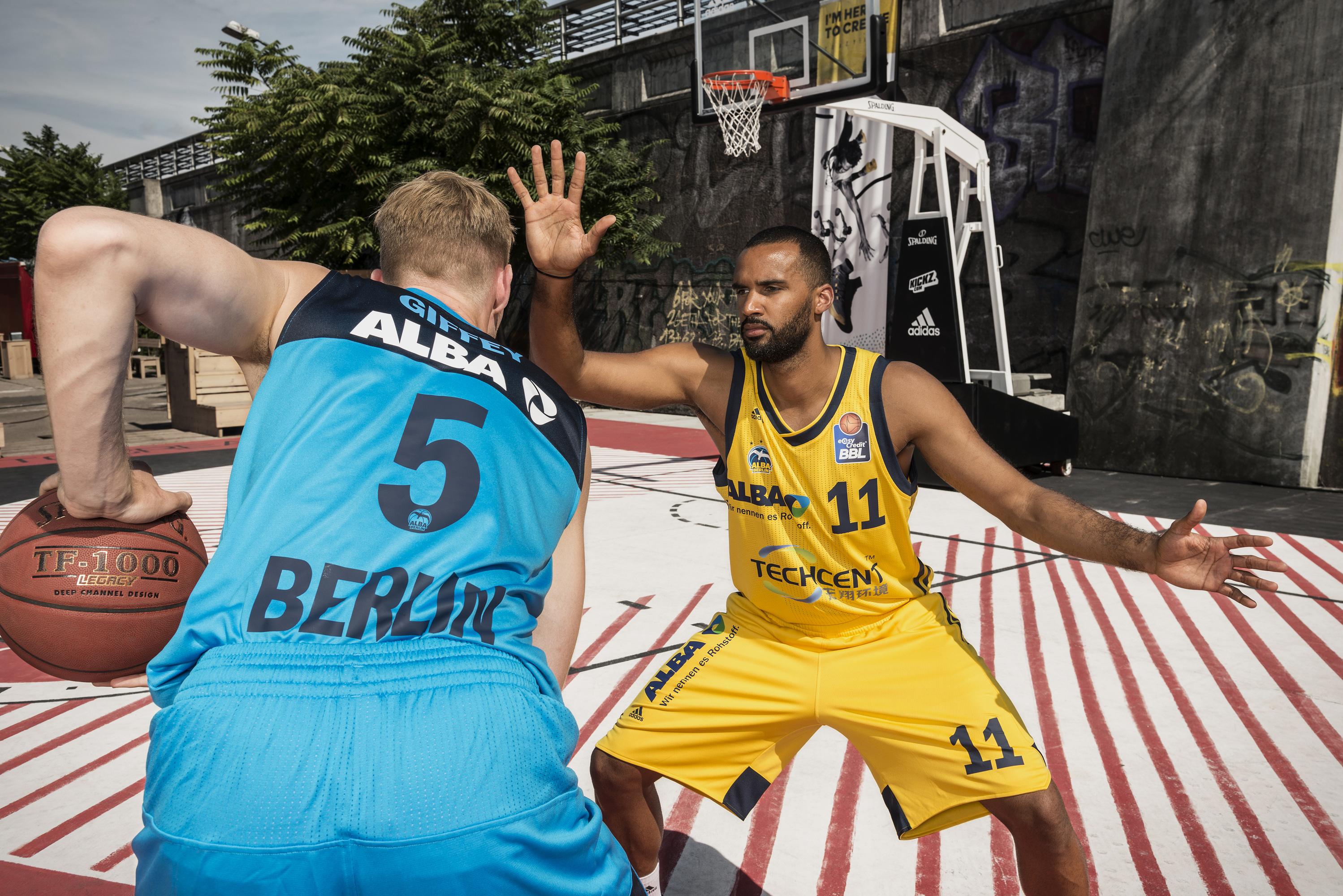 Akeem Vargas, einer der Gewinner der Neuausrichtung von Alba Berlin Foto: (c) Florian Ullbrich / Alba Berlin