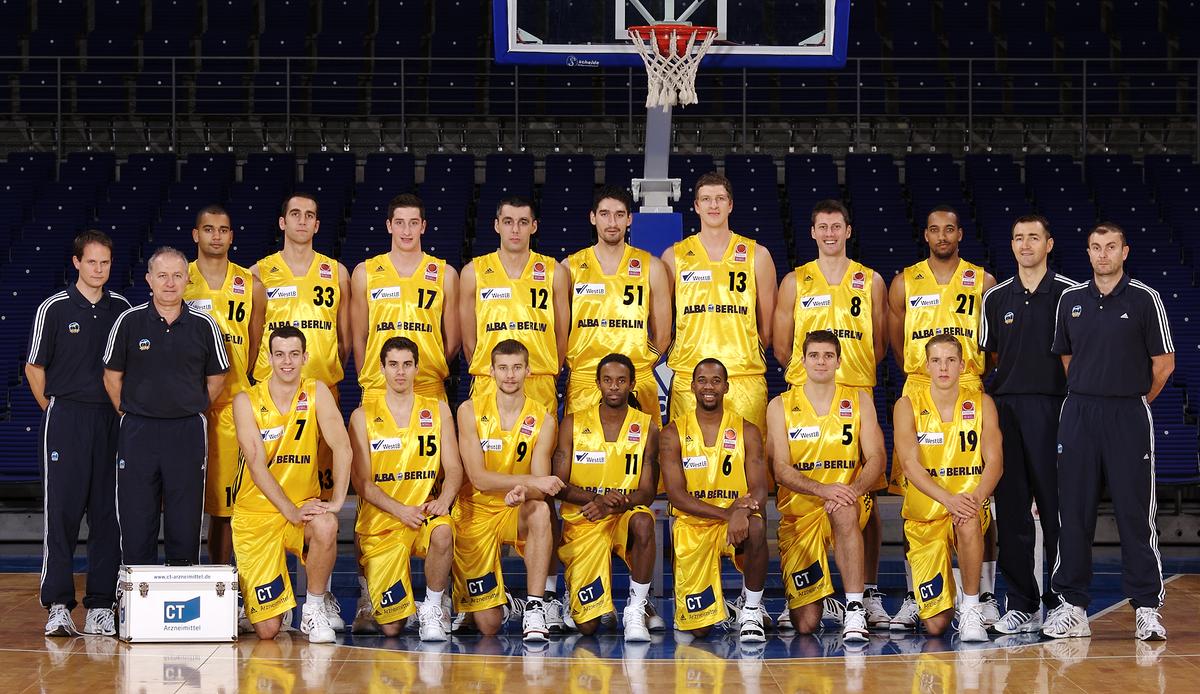 Der letzte Deutsche Basketball-Meister aus Berlin: Das Alba-Team der Saison 2007-08