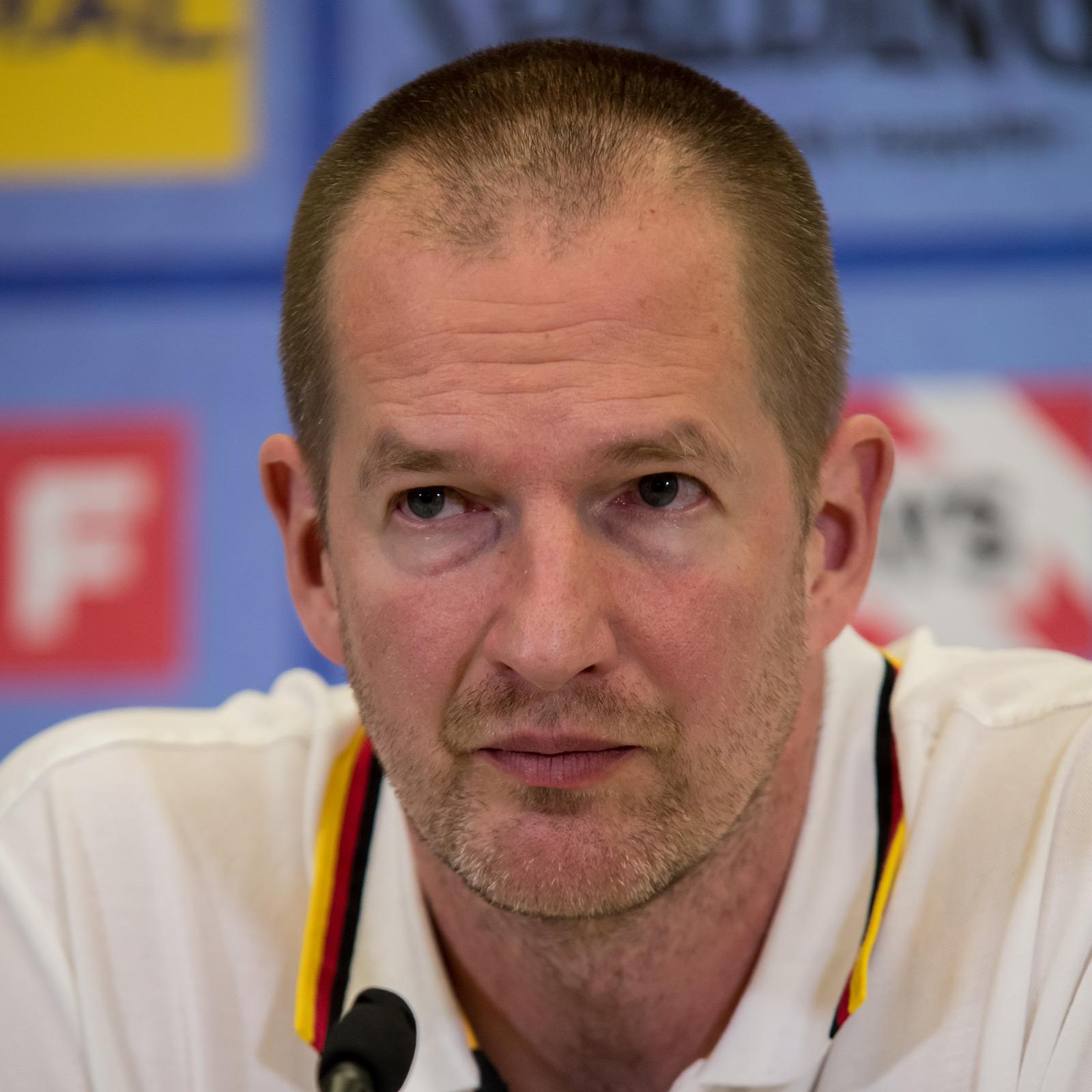 Henrik Rödl in seiner Funktion als Bundestrainer des DBB Foto: wikimedia commons, user Granada, under CC BY-SA 4.0 International license