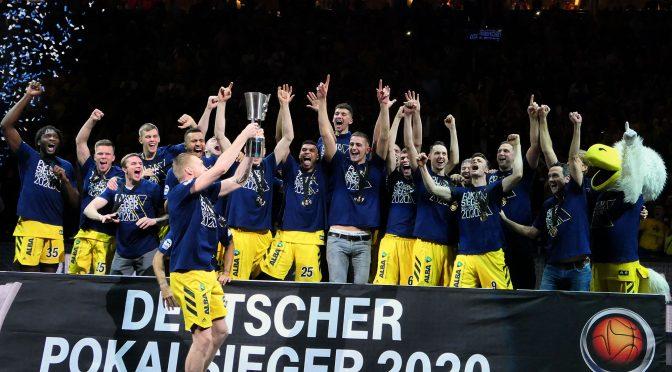 Fotos, Fotos, Fotos vom Pokalsieger ALBA Berlin