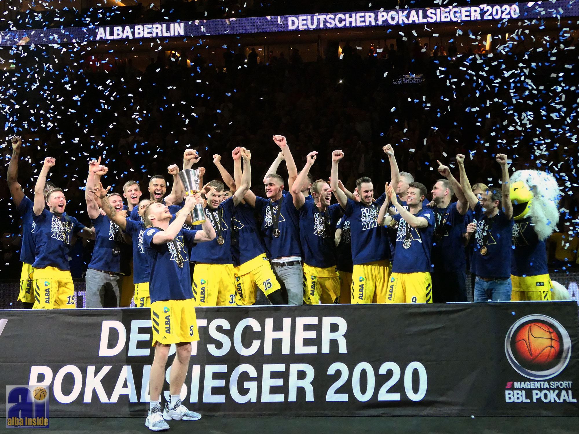 Alba Berlin, EWE Basket Oldenburg, Pokal, easycredit Basketball Bundesliga